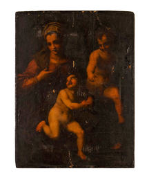 The Madonna, Jesus and Saint John
