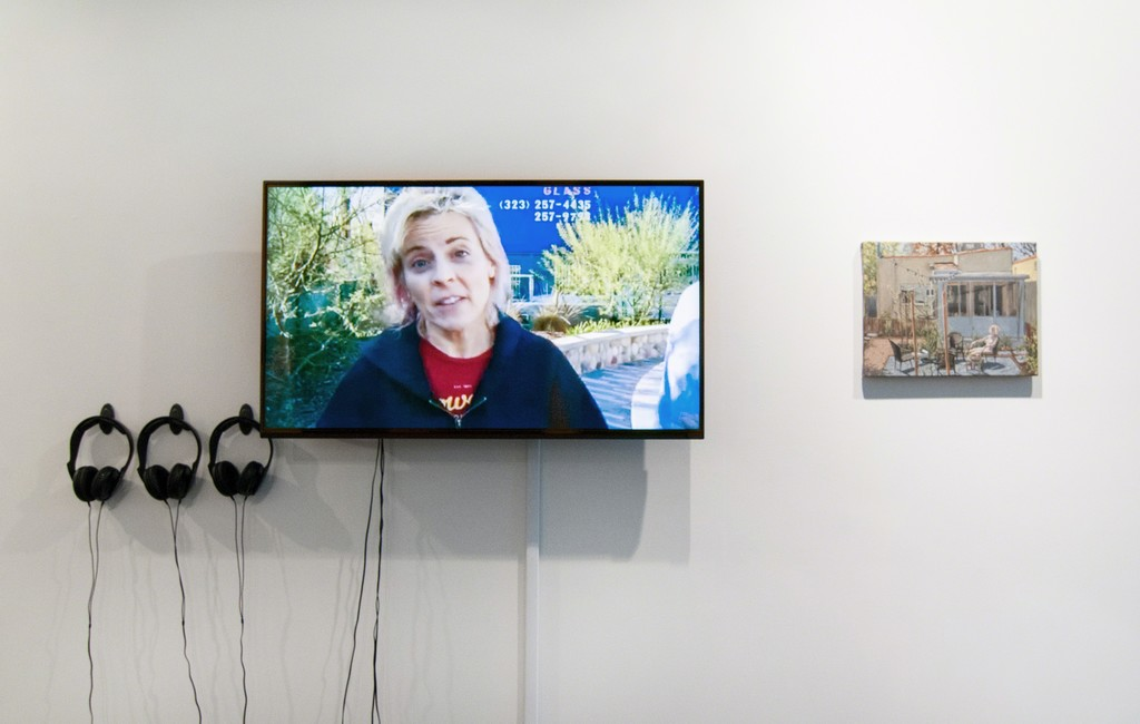 Video courtesy Maria Bamford and Scott Marvel Cassidy, painting by Scott Marvel Cassidy. Photo by Mario Gallucci.