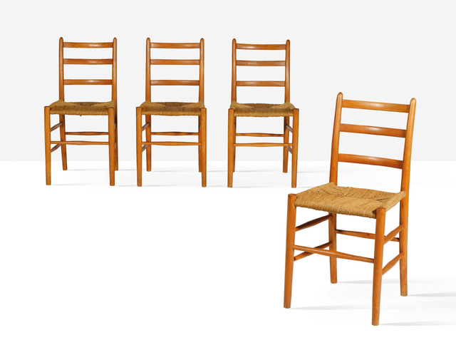 Arne Jacobsen, 'Set of 4 chairs', 1935, Aguttes
