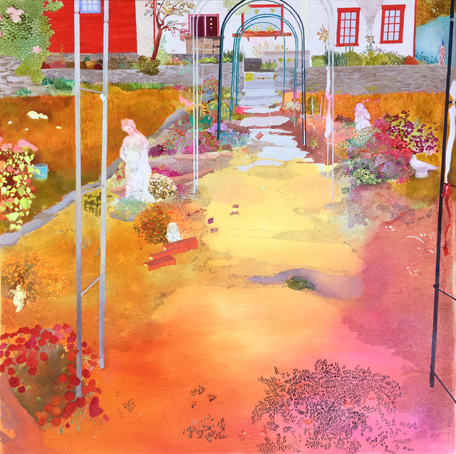 , 'My Dreams Will Pull You Through the Garden Gate,' 2017, Nancy Margolis Gallery