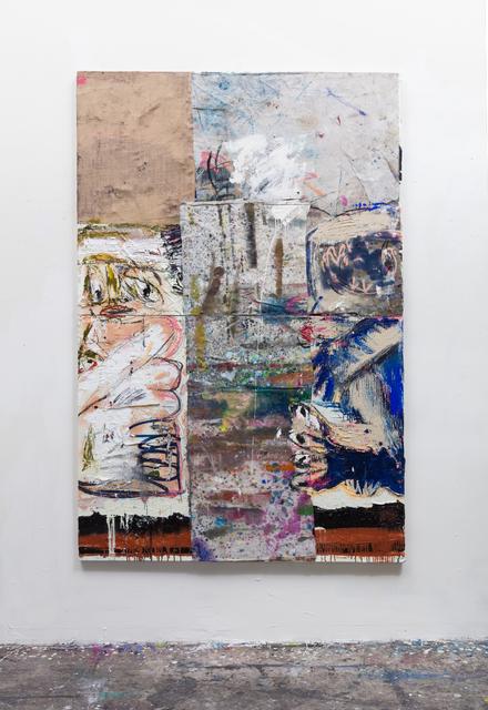 , 'Zumbi and Belfie split (LA),' 2016, Vigo Gallery