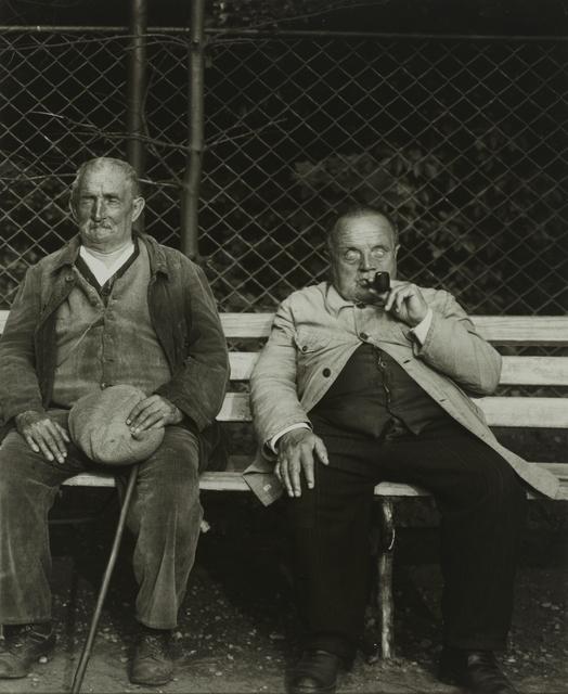 , 'Blind Miner and Blind Soldier,' ca. 1930, Galerie Julian Sander