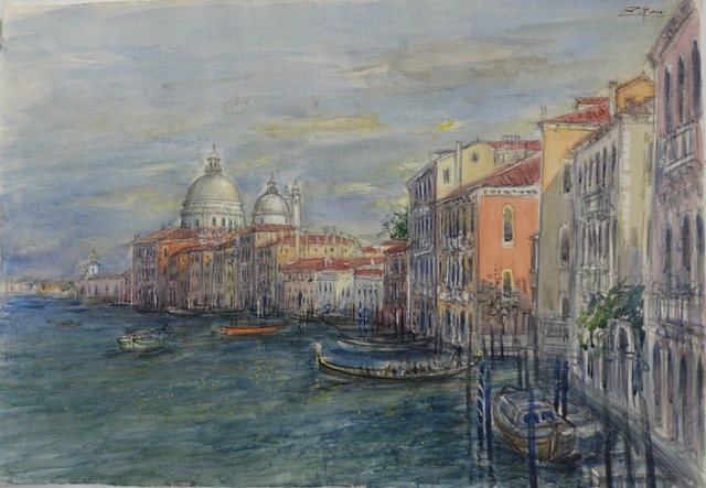 , 'Grand Canal, Venice,' 2018, Galerie d'Orsay