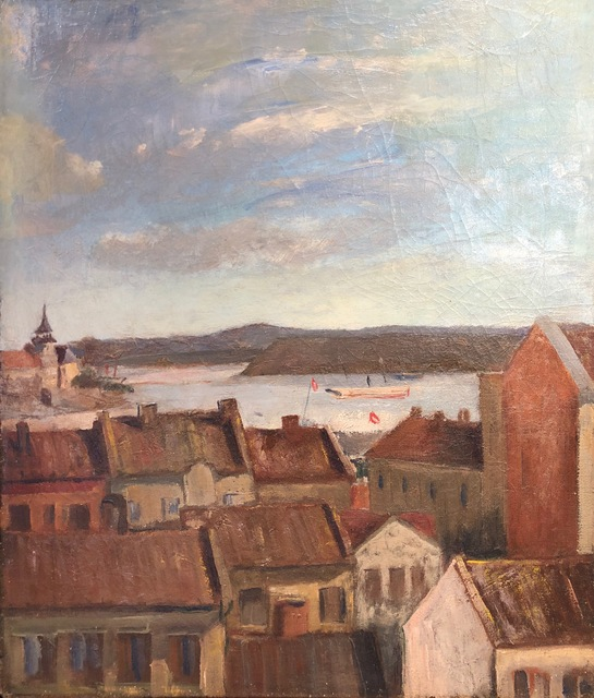 , 'Port in Brittany,' , Susan Calloway Fine Arts