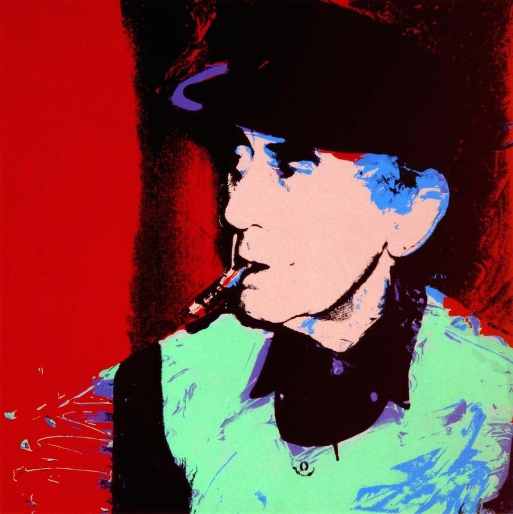 Andy Warhol Man Ray, 1974
