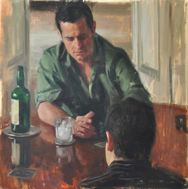 Aldo Balding, 'Card Players', 2018, Christopher Moller Gallery
