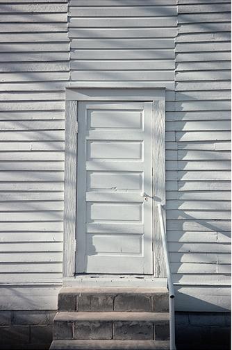 William Christenberry, 'Door, Havana Methodist Church, Havana, Alabama', 1976, Pace/MacGill Gallery