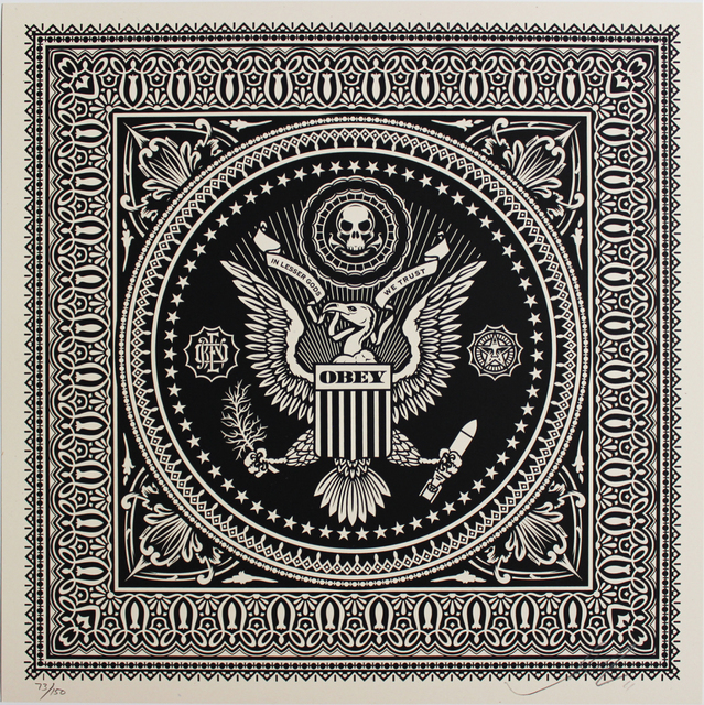 Shepard Fairey (OBEY), 'Presidential Seal', 2011, EHC Fine Art Gallery Auction