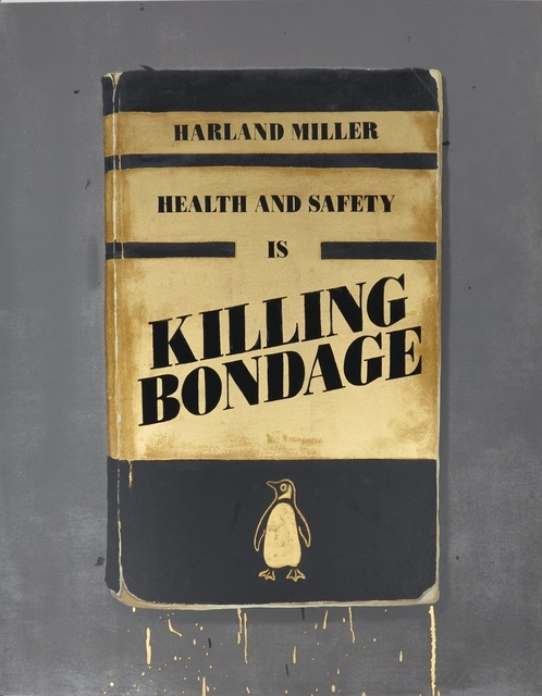 Harland Miller, 'Health and Safety is Killing Bondage', 2015, IKON Ltd. Contemporary Art
