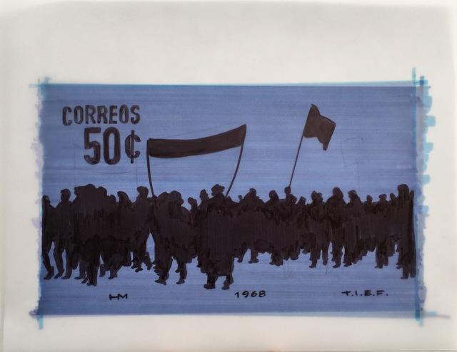 Humberto Márquez, 'Boceto Marcha', 1968, Henrique Faria Fine Art