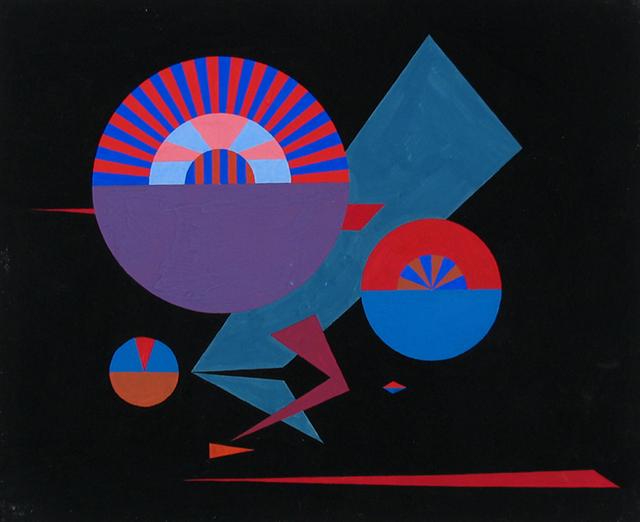 , '#243,' 1946, Caldwell Gallery Hudson