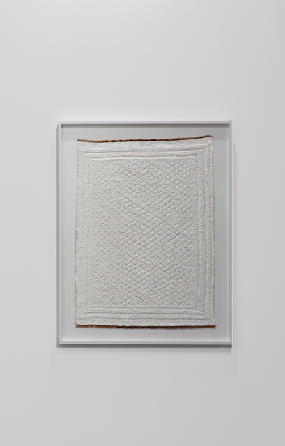 Babak Golkar, 'Imposition #12', 2016, Sculpture, Acrylic paint and hand-made persian carpet., Sabrina Amrani