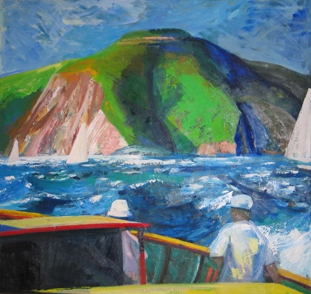 , 'Boating on the Bay II,' 1962, Elins Eagles-Smith Gallery