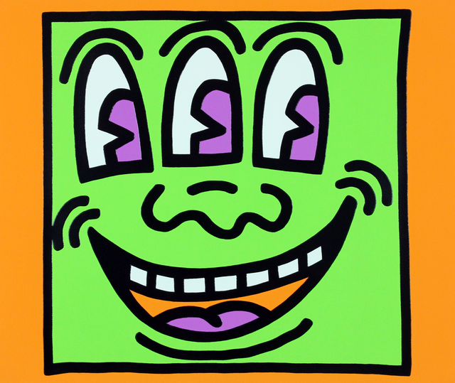 , 'Three Eyed Monster (Icons),' 1990, Gormleys Fine Art