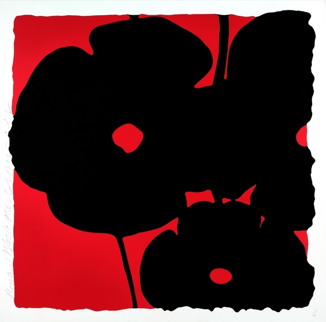 , 'Reversal Poppies: Red and Black, November 6, 2015,' 2015, William Campbell Contemporary Art, Inc.