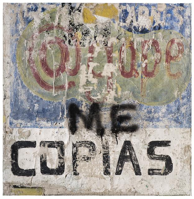 Alfredo Romero, 'Me Copias', 2018, LA SALA
