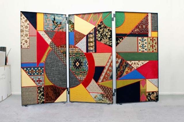 , 'Paravent / Social Fabric #2,' 2012, RAMPA