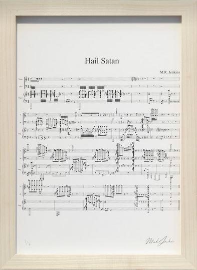 , 'Hail Satan,' 2018, Danysz Gallery