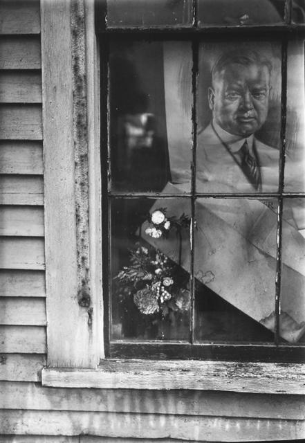Walker Evans, 'Political Poster (Herbert Hoover) in House Window, Wellfleet, Massachusetts', 1929, Jackson Fine Art