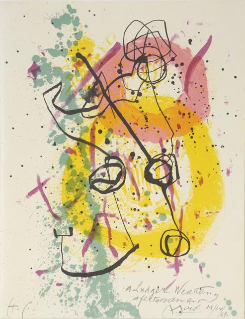 , 'Renouveau du Relief – Renewal of Springtime,' 1961, William Weston Gallery Ltd.