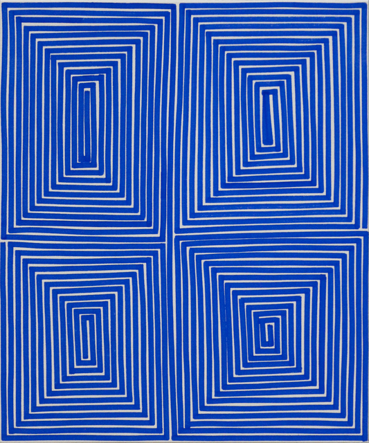 , 'Blue Coffer (Geo),' 2014, Newzones