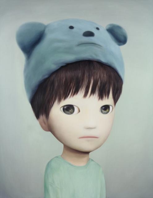 , 'blue bear hat,' 2018, Gallery Tsubaki