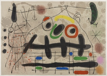 Joan Miró, 'Le Lézard Aux Plumes D'or (M.461),' 1967, Forum Auctions: Editions and Works on Paper (March 2017)