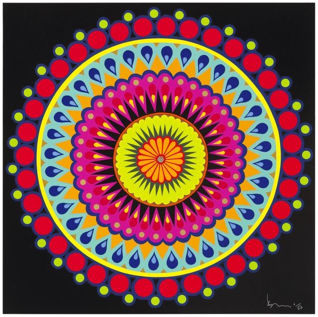 Carlos Rolón, 'Double Barrel Purple Micro Dot, 1', 2012, New Gallery of Modern Art