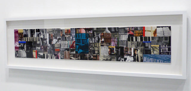 Buzz Spector, 'Authors Libraries 9', 2014, Bruno David Gallery