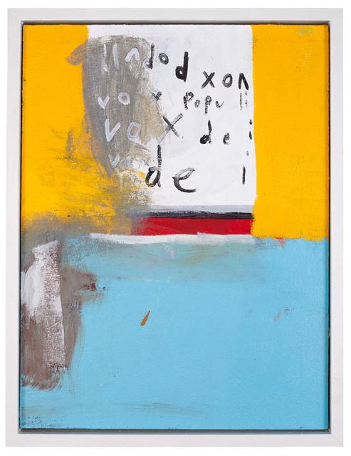 , 'Vox Populi Vox Dei ,' 2016, The Road Gallery