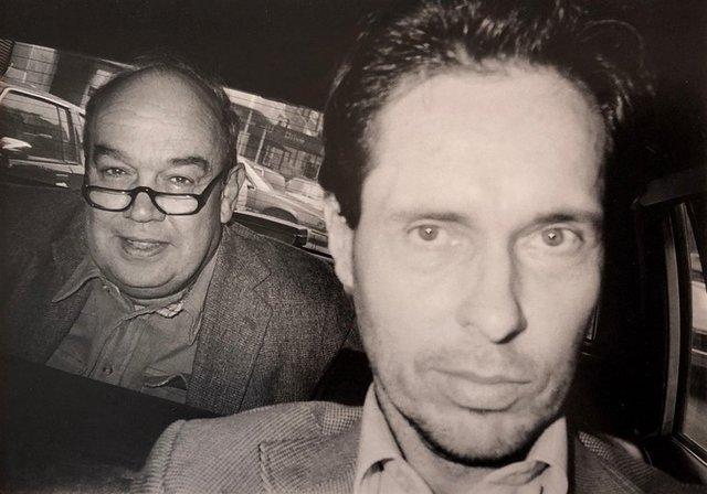 Ryan Weideman, 'NYC Cabbie and Fare Vintage Silver Gelatin Photo Black White Street Photograph', 1990-1999, Lions Gallery