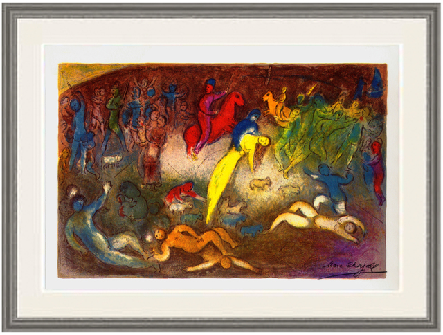 Marc Chagall, 'Enlevement de Chloe (Abduction of Chloe)', 1977, Print, Lithograph, ArtWise
