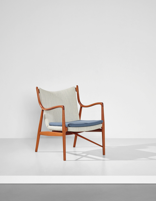 Finn Juhl, 'Rare armchair, model no. FJ45', designed 1945, Phillips