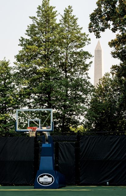 , 'White House Hoop,' 2012, Winston Wächter Fine Art
