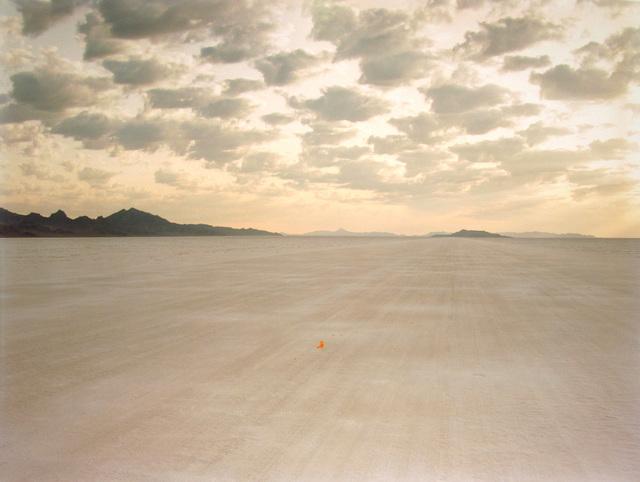 Richard Misrach, 'Demarcation for Rut Repair, Bonneville Salt Flats', 1992, Pace/MacGill Gallery