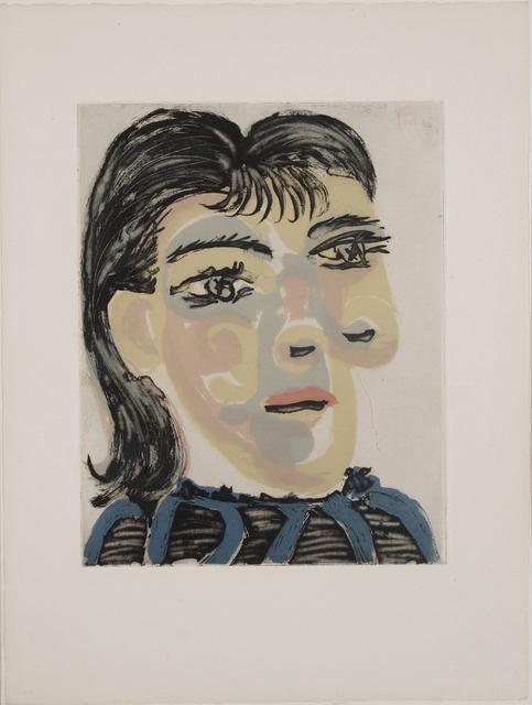 Pablo Picasso, 'Tête de femme n°2, Dora Maar', 1939, Galerie Jean-François Cazeau