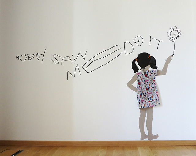 , 'Nobody Saw Me Do It,' 2013, MUCA