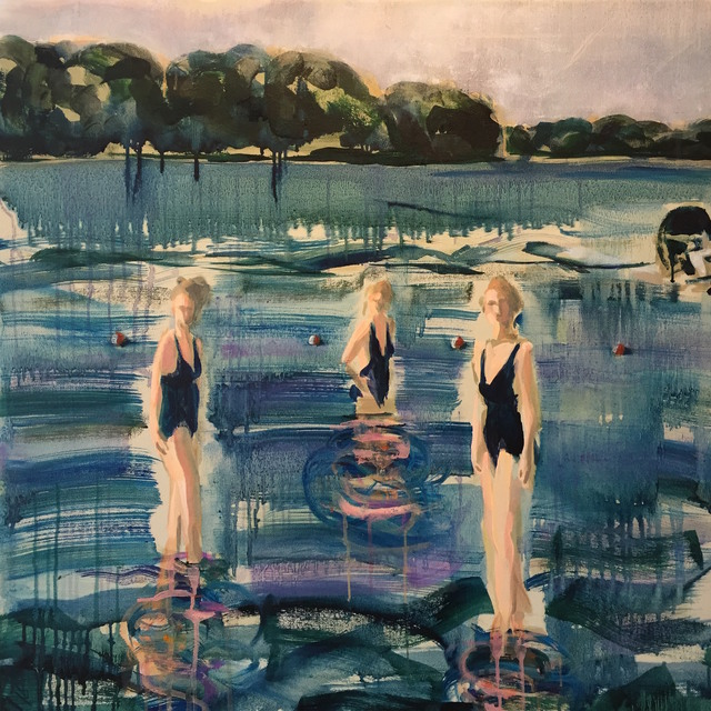 , 'The Bathers in Lake Eugenia,' 2018, parts gallery