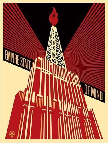 Shepard Fairey, 'Empire State Of Mind', 2014, Artsnap