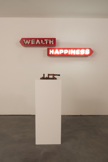 , 'Wealth or Happiness,' 2012, Charlie James Gallery