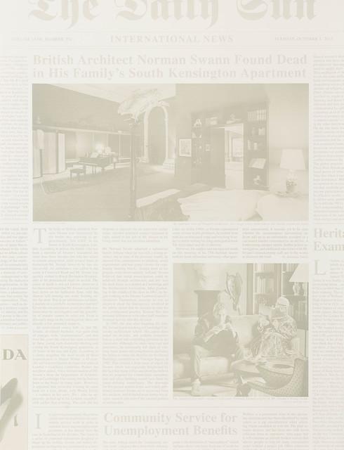 , 'International News,' 2014, Edition Copenhagen