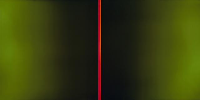 , 'The Red Blaze,' 2015, HackelBury Fine Art