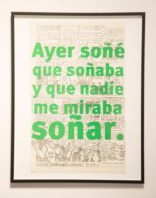 Roberto Jacoby, '¡1968, el culo te abrocho! / Your Ass I Wait', 2008, EL GRAN VIDRIO