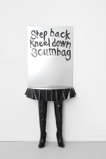 Filip Berg, 'Dominatrix', 2020, Design/Decorative Art, Ack leather, boots, wood, mirror, Etage Projects