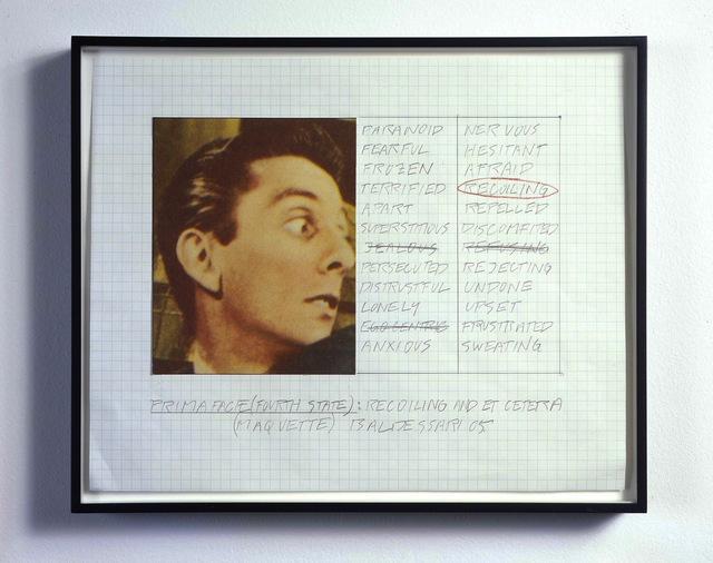 , 'Prima Facie (Fourth State): Recoiling and Et Cetera (Maquette),' 2005, Galerie Greta Meert