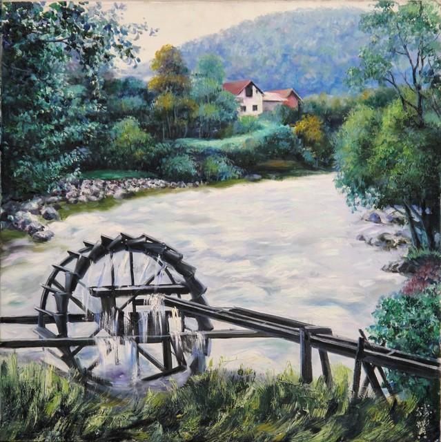 , 'Waterwheel,' 2009, A-Art Shengzan Gallery