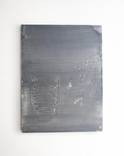 , 'Sin título (números),' 2017, PROYECTOSMONCLOVA