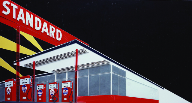 , 'Standard at Night From Pictures of Cars (After Ruscha),' 2008, Robert Berman Gallery