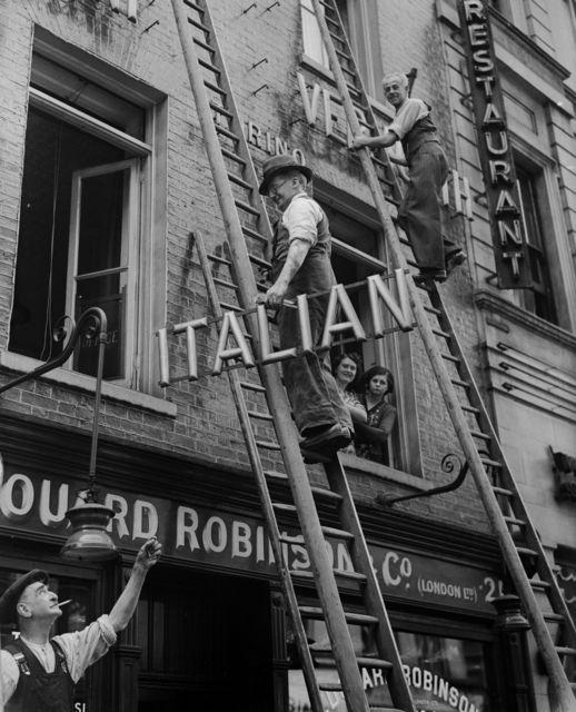 , 'British Restaurant? ,' 1940, Getty Images Gallery