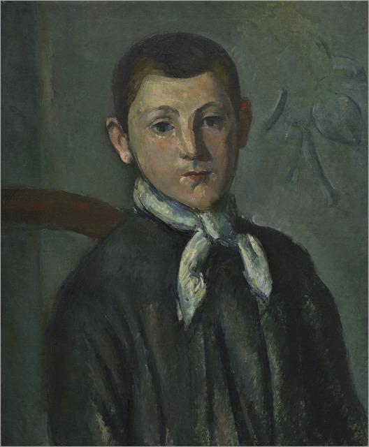 Paul Cézanne, 'Louis Guillaume', ca. 1882, National Gallery of Art, Washington, D.C.